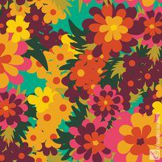 Veronica Galbraith • Surface Pattern Designer • Flowers For Lola