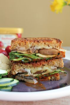 The Ultimate Grilled Veggie Sandwich by Hip Foodie Mom