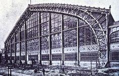 Galerie de Machines, 1889 Paris Exhibition, Dutert