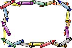 marcos | Recursos para el maestro: Marcos escolares para trabajos y carteles en ...