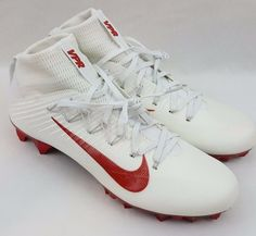 new arrival 5b99a 56f47 Nike Vapor Untouchable 2 TB Jewels Size 11 Football Cleats White Red  835831-160
