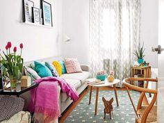 Un piso de alquiler convertido en hogar