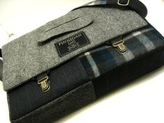 Mens 15 laptop Messenger Bag  15  Macbook by SewMuchStyle on Etsy, $125.00