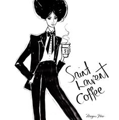 Saint Laurent coffee