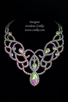 We can develop the design of a necklace for you. You just need to decorate the base pastes according to your taste.Please enter the desired number of bases. Bridal Jewelry, Beaded Jewelry, Jewellery, Ballroom Jewelry, Dance Accessories, Ballroom Dance Dresses, Belly Dance Costumes, Leather Jewelry, Sewing Patterns