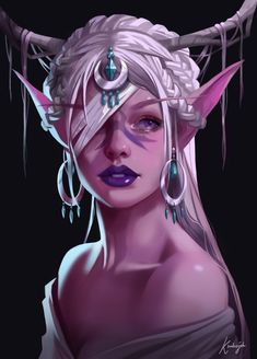 Beautiful Fantasy Art, Dark Fantasy Art, Fantasy Girl, Fantasy Artwork, Dnd Characters, Fantasy Characters, Female Characters, Fictional Characters, Female Character Design