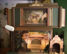 Pantomine Peacock Theater via Puppet Lady.  read more at http://puppetlady.wordpress.com/2011/10/18/treasure-island-hansel-gretel-and-4-generations-of-toy-theatre-enthusiasts/