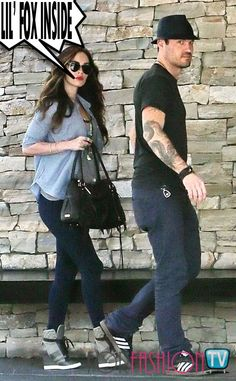 #MeganFox HIDING #BabyBump @ #LunchDate With HUBBY #BrianAustinGreen !!!