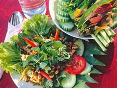Atkins, Thai Salat, Low Carb High Fat, Seaweed Salad, Cabbage, Mexican, Vegetables, Ethnic Recipes, Food