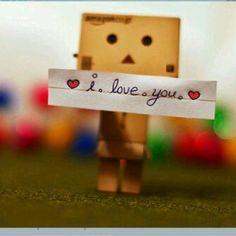 #Danbo love you