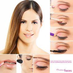 Ideal para o dia a dia, a maquiagem básica com um pouco de cor nos olhos e batom nude nos lábios é linda! http://www.adoromaquiagem.com.br/dicas-maquiagem/novidades-tendencias/maquiagem-para-o-trabalho/16594/ #dica #look