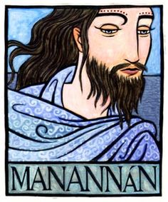 MANANNAN is the God of the Sea of the Irish Celtic who looks over the Isle of Man. He was considered one of the Tuatha De Danann, or Children of the Goddess Danu, and was the equivalant of the Welsh sea-God Manawyddan. Celtic Art, Irish Celtic, Celtic Paganism, Irish Mythology, Pagan Gods, Celtic Culture, Legends And Myths, Gods And Goddesses, Archetypes