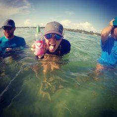 #countryshore #venturebyamerican #jupiter #florida #sandbarsunday #cooziesfordays #snapback