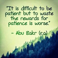 Islamic Quotes on Sabr/Patience. Islam is the complete code of life. Allah SWT has given us the book of Quran for our guidance. Sabr and patience in Islam have been given great importance as it makes us pious and increases our Iman and faith in Allah SWT. Words Quotes, Life Quotes, Hindi Quotes, Holy Quotes, Relationship Quotes, Quotations, Relationships, Best Islamic Quotes, Patience Quotes