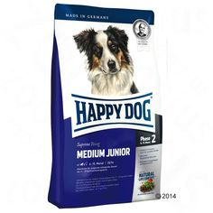 Animalerie  Happy Dog Supreme Young Medium Junior (Phase 2) pour chiot  10 kg