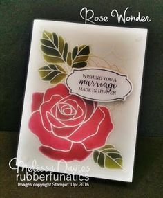 Stamps: Rose Wonder Ink: Versamark, Archival Basic Gray Paper: Whisper White, Vellum Accessories: White Perfect Accents, Gold Thread, Rose Garden thinlits, White embossing powder, heat too