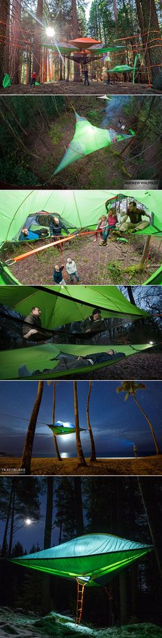 New Suspended Tree Tent