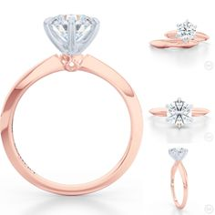 #EveningStar - our new addition to #Ariel collection. Classic six prong…