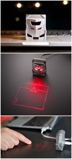 The ODiN laser-projection mouse is the world's first laser projection mouse. #affiliate