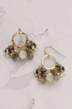 Bead Cluster Earrings - anthropologie.eu