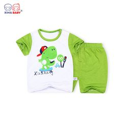 >> Click to Buy << XIHA BABY Clothing Set 2016 2 Piece Set Baby Girl Summer Style Newborn Baby Clothing Sets Boy Cotton Short Sleeve + Pants Suits #Affiliate