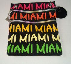 ROBIN RUTH Miami Neck Bag w/ Strap - Crossbody Bag Orange Yellow Green Orange Bag, Orange Yellow, Robin, Miami, Crossbody Bag, Green, Bags, Beauty, Decor