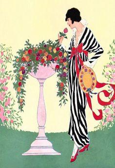 artdeco.quenalbertini: Helen Dryden for Vogue 1913