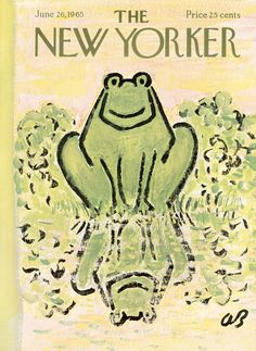 The New Yorker - Saturday, June 26, 1965 - Issue # 2106 - Vol. 41 - N° 19 - Cover by : Abe Bimbaum