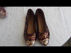 Merhabalar ,Part- 1 in devamıdır . Crochet Sandals, Crochet Shoes, Tabata, Stiletto, Chanel Ballet Flats, Heels, Youtube, Videos, Fashion