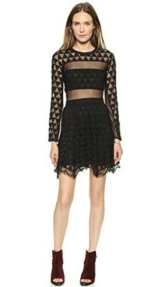 a941d3703c15 Elizabeth And James - Valencia Dress - Black