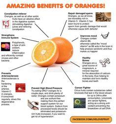 Oranges have countless health benefits. http://paleoaholic.com/ #paleo #healthy #oranges