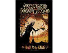 Avenged Sevenfold - Hail to the King Reaper - Textile Poster Flag