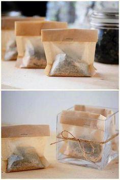 How To Make Bath Time Tea Bags | Health & Natural Living