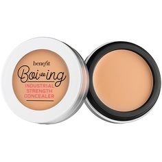 Benefit Boi-ing Industrial Strength Concealer ($23) ❤ liked on Polyvore featuring beauty products, makeup, face makeup and concealer