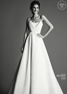 Vestido de noiva minimalista - tomara que caia ( Foto: Ivan Erick | Vestido: Nanna Martinez para WhiteHall )