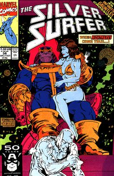 Silver Surfer Vol. 3 # 56 by Ron Lim & Tom Christopher