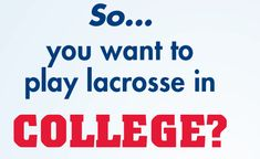 Lacrosse Playground » Recruiting Guide for Lacrosse