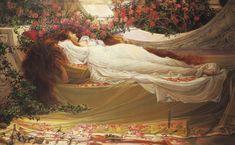 Sleeping Beauty - John William Waterhouse