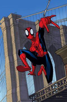 Spider-Man by Dennis Budd
