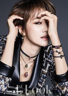 Go Jun Hee takes part in daring pictorial for '1st Look' | allkpop.com