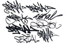 Serial Tag | Graffiti Alphabet