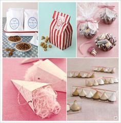 Cadeaux invités DIY - Les minis gourmandises (tartelettes, caramels, barbe à papa et meringues)