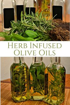 Rosemary and Sage Infused Olive Oils - DIY infused oils, How to infuse your own olive oil, herb infused olive oil Garlic Infused Olive Oil, Flavored Olive Oil, Lemon Olive Oil, Infused Oils, Olive Oil Dip For Bread, Olive Oil Pasta, Olive Oil Dipping Recipe, Grilled Cheese With Tomato, Dairy Free Pesto