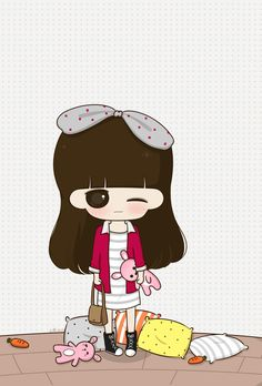 Kawaii Wallpaper, Girls World, Cute Photos, Loving U, Clay Art, Cute Wallpapers, Cute Girls, Chibi, Hello Kitty