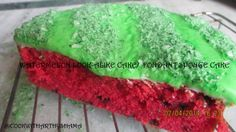 Watermelon look-alike cake http://cookwitharthyshama.blogspot.in/2014/04/watermelon-look-alike-cake-fondant.html
