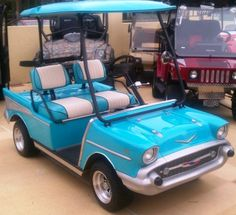'57 Old Car Custom Club Car Golf Cart
