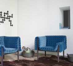 Ruché, Fauteuils Designer : Inga Sempé | Ligne Roset