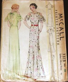 mccall gown 7318
