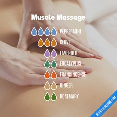 Helpful Techniques For aromatherapy massage oil Essential Oils For Massage, Essential Oils Guide, Essential Oil Uses, Doterra Essential Oils, Yl Oils, Healing Oils, Aromatherapy Oils, Savon Soap, Essential Oil Diffuser Blends