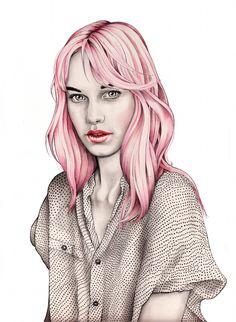 Dotty by Swedish illustrator Hannah Muller